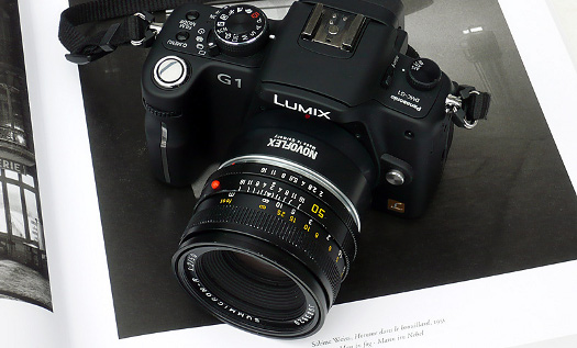 Leica R lens with Novoflex adapter on the Panasonic G1 - 43