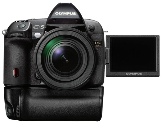 FT3) Olympus E-5 will use the Fuji SuperCDD sensor?