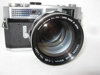 Canon megafast 50mm f0.95 lens!