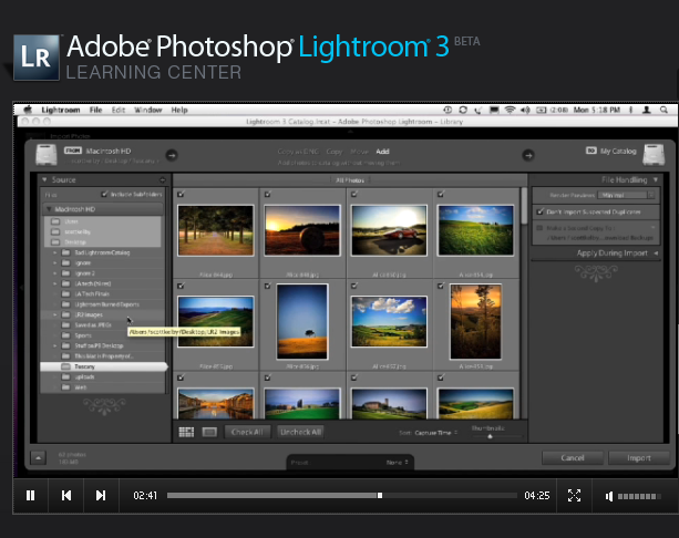 Adobe launches the public Lightroom 3 beta version. You can download