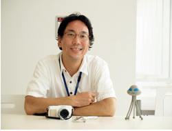Neptan interviews Mr. Funakoshi, the OLYMPUS PEN E-P1 designer